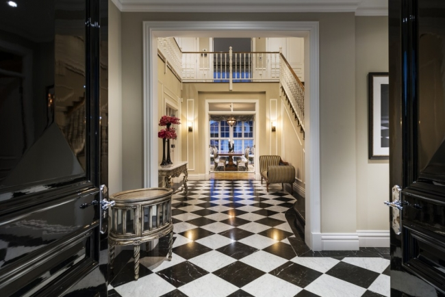 Grand Foyer In English : The english manor style mansion house nerd