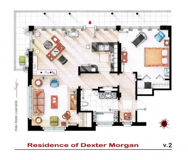 Famous TV Show Floor Plans – Famous House Floor Plans