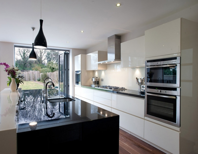 ABOVE: This Is One Of Yasminu0027s Kitchen Renovations, This One Done To A Home  In Applecross. Black And White Contrasting Colours Were Used For A Stylish  ...