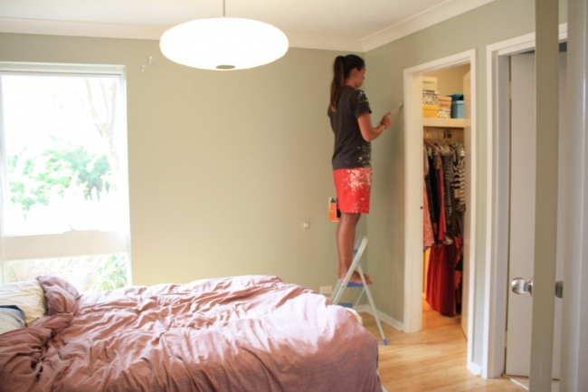 our bedroom makeover the painting dilemma house nerd