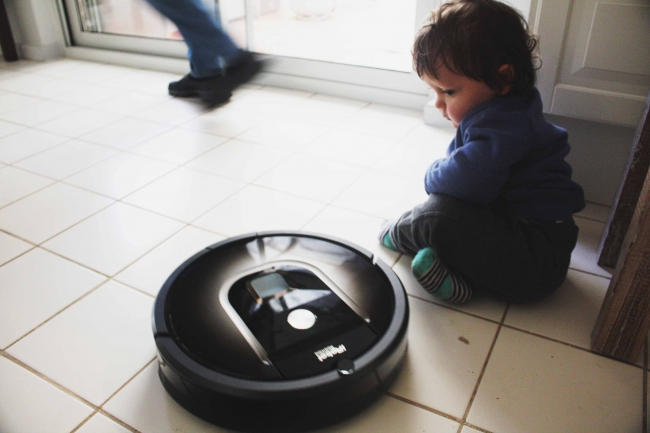 A Roomba Review Win An Irobot Braava 380t Floor Mopping