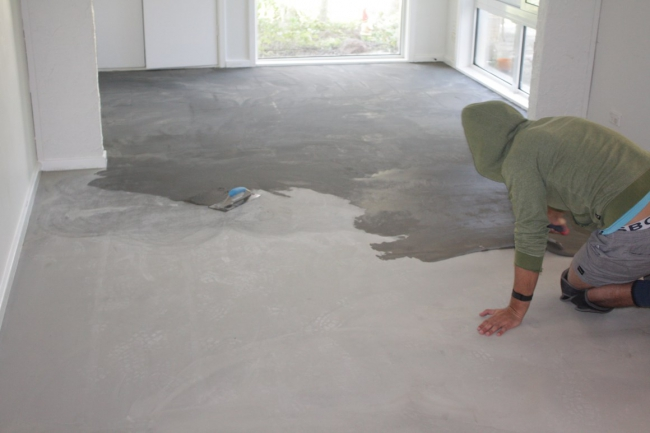 Everything You Need To Know About Vinyl Floors House Nerd - How to level floor for laminate on concrete